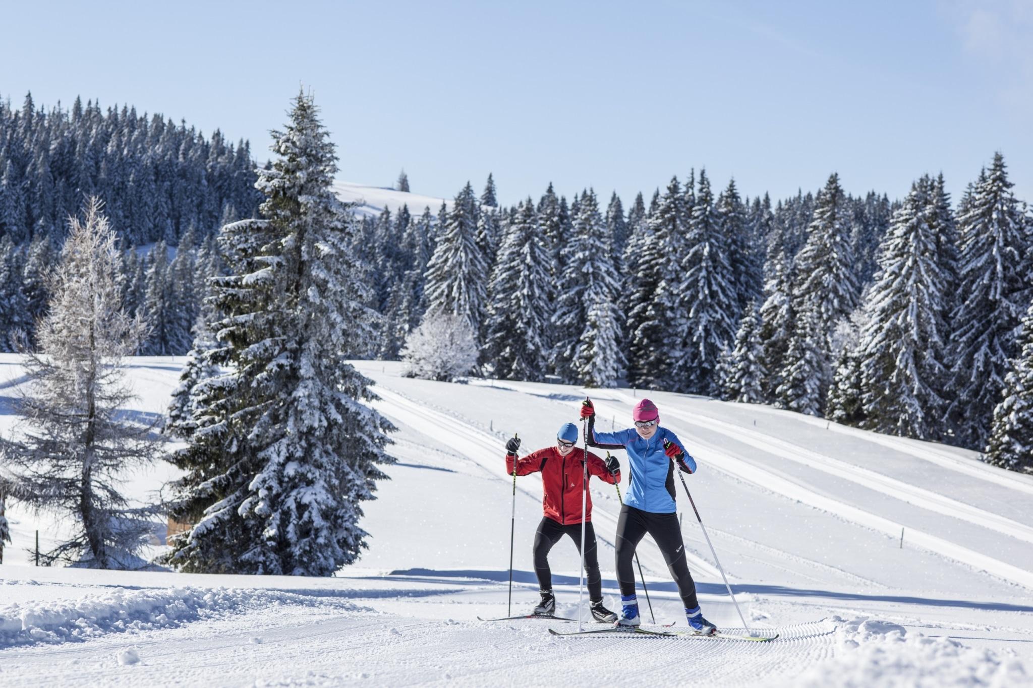 Zwei Langläufer im Hochschwarzwald - © HTG