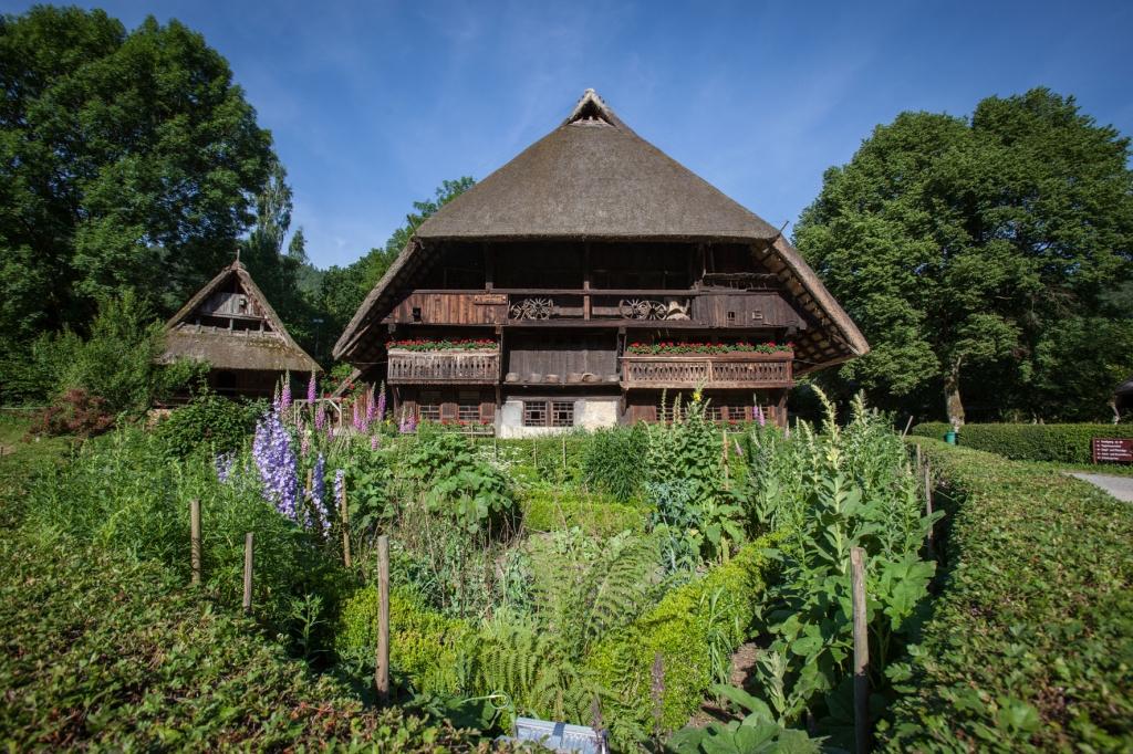 Alter Schwarzwaldhof im Freilichtmuseum Vogtsbauernhöfe in Gutach