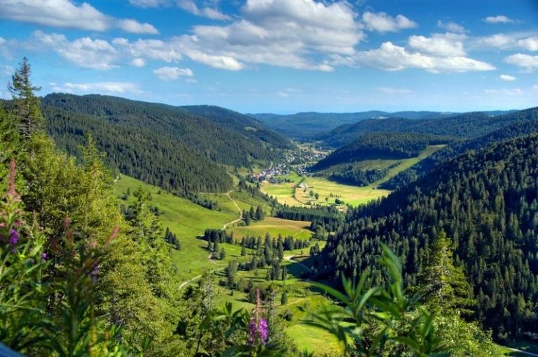 Blick in das Menzenschwander Tal