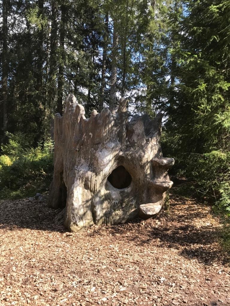 Höhle auf dem Feldberger Wichtelpfad